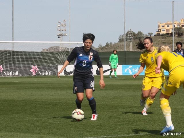 U-23日本女子代表ラ・マンガ国際大会 3-1でU-23スウェーデン女子代表に勝利
