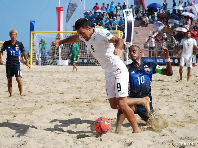 ビーチサッカー日本代表、イランに敗れワールドカップ出場権をかけた3位決定戦へ AFCビーチサッカー選手権