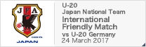 U-20 International Friendly Match[3/24]