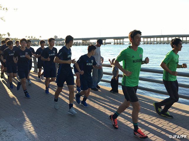 U-17日本代表、FIFA U-17ワールドカップインド2017へ向けてアメリカ遠征を開始