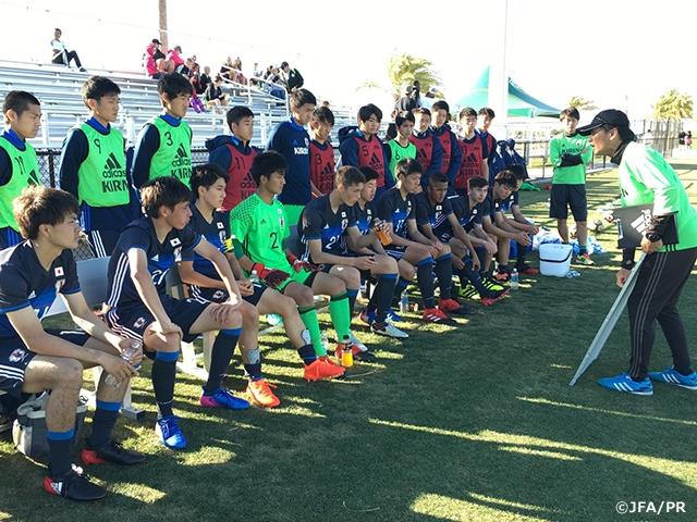 U-17日本代表アメリカ遠征 強豪...