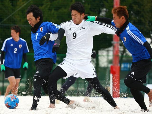 ビーチサッカー日本代表マルセロ・メンデス監督による選抜クリニックを神奈川県で開催