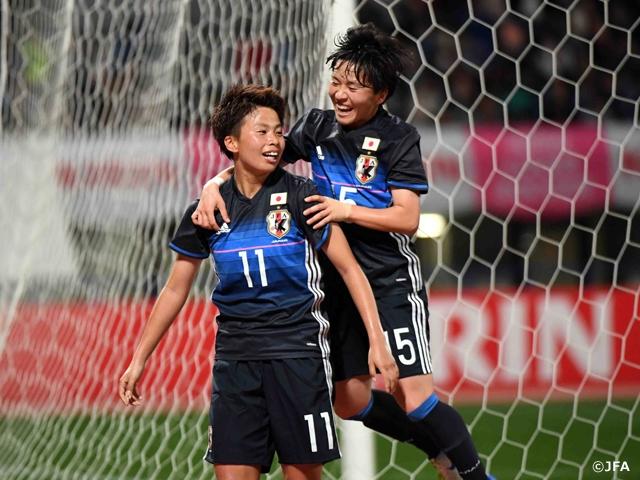 なでしこジャパン コスタリカに3-0で完封勝利をおさめる キリンチャレンジカップ2017~熊本地震復興支援マッチがんばるばい熊本~