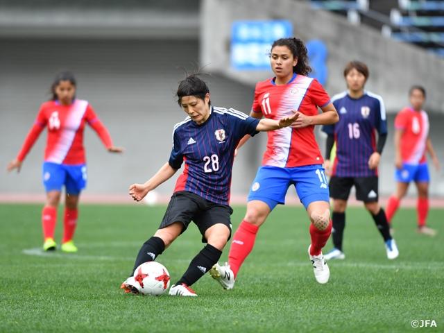 なでしこジャパン、コスタリカと練習試合 5-0で勝利