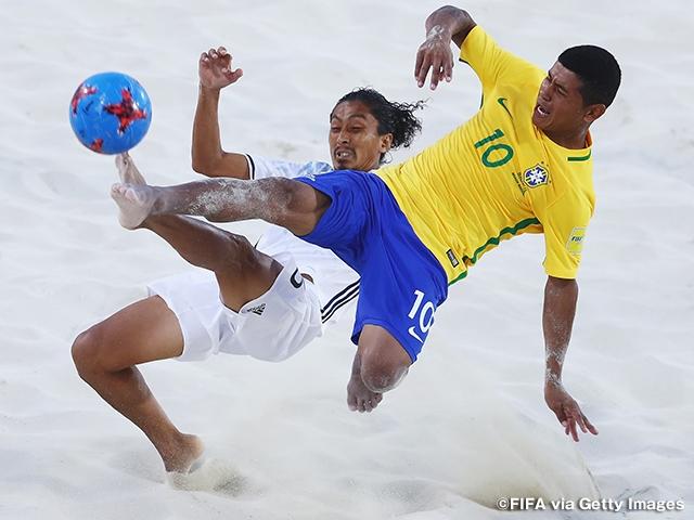 ビーチサッカー日本代表 強豪ブラジルに3-9で敗れ、グループステージ敗退 ~FIFAビーチサッカーワールドカップバハマ2017~