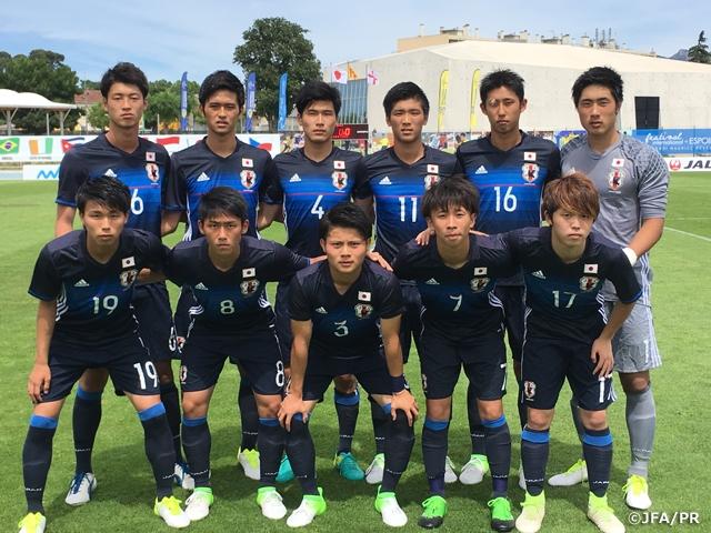 U-19日本代表 イングランドに惜...