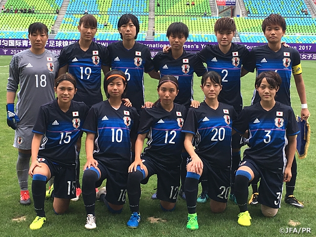 c1ae1bfcfc0 U-19 Japan Women s National Team beat Iran 5-1 ~NSWI Cup CFA International  Women s Youth Football Tournament Duyun 2017~