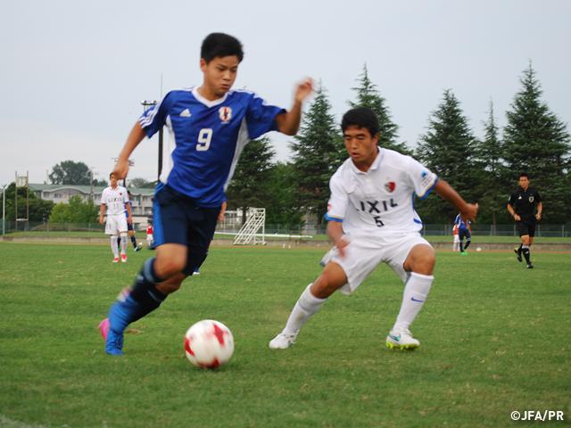 U-15日本代表 AFC U-16選手権201...