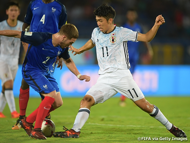 a589aa3a14b U-17 Japan National Team suffer defeat to France and now sit with a record  of one win and one loss ~ FIFA U-17 World Cup India 2017