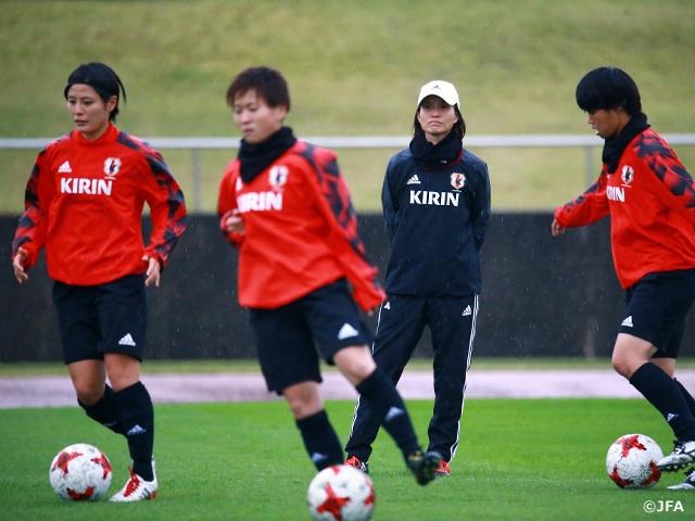 なでしこジャパン スイス女子代表戦に向けて活動開始 ~MS&ADカップ2017~