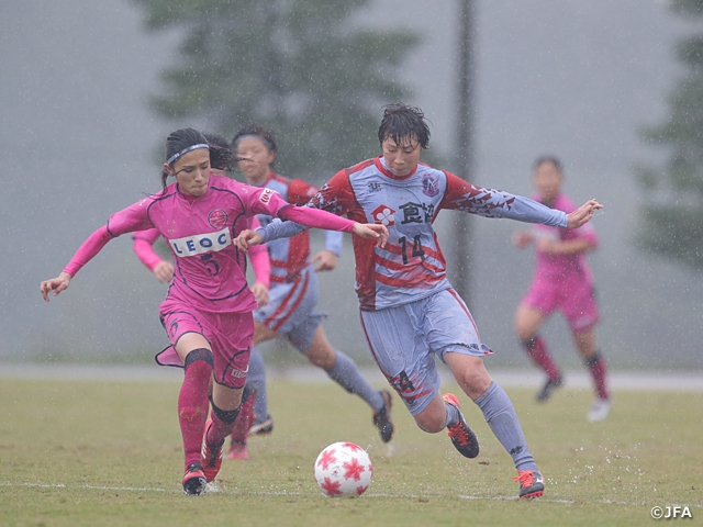 Second-round teams decided in the 39th Empress's Cup All Japan Women's Football Tournament