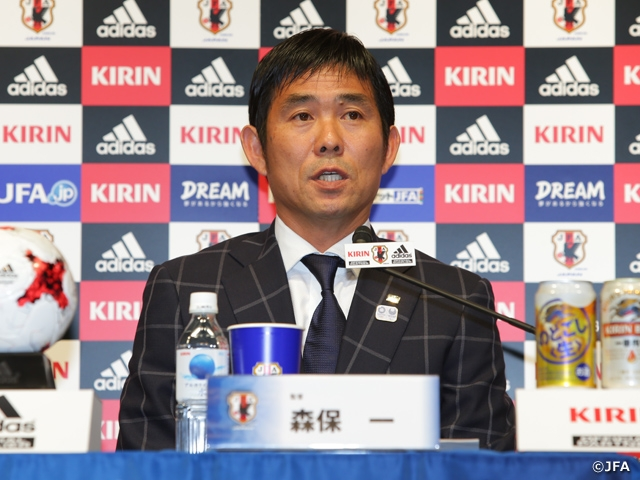 New Olympic coach Moriyasu aspires to win medal 'with all his might'