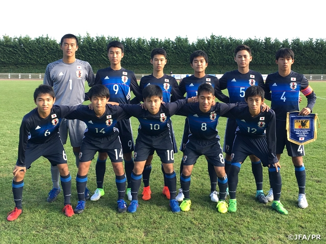 U-15 Japan National Team grab impressive comeback win in first match of tournament in France