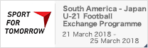 SPORT FOR TOMORROW South America - Japan U-21 Football Exchange Programme