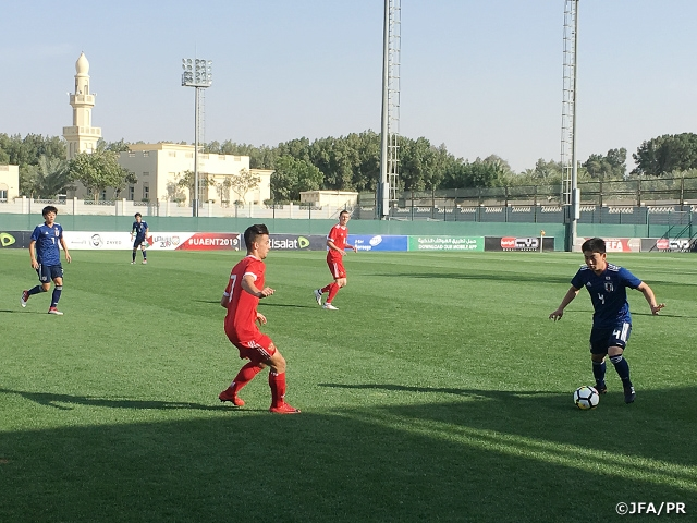 U-17 Japan National Team comes from behind to draw with