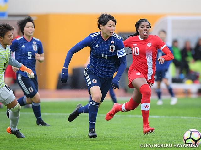 なでしこジャパン カナダに0-2で敗れ、6位で大会を終える~アルガルベカップ2018~