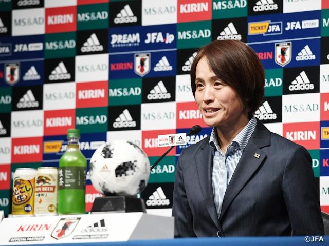 なでしこジャパン、「本番」に向けて23名を招集 ~MS&ADカップ2018、AFC女子アジアカップヨルダン2018メンバー発表記者会見~