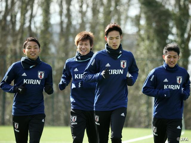 SAMURAI BLUE、川崎フロンターレの3選手らが合流