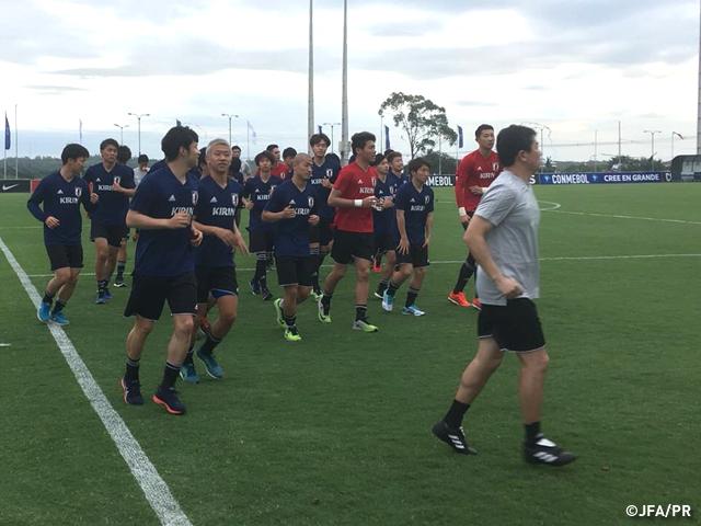 U-21日本代表、パラグアイ遠征スタート~スポーツ・フォー・トゥモロー(SFT)プログラム 南米・日本U-21サッカー交流