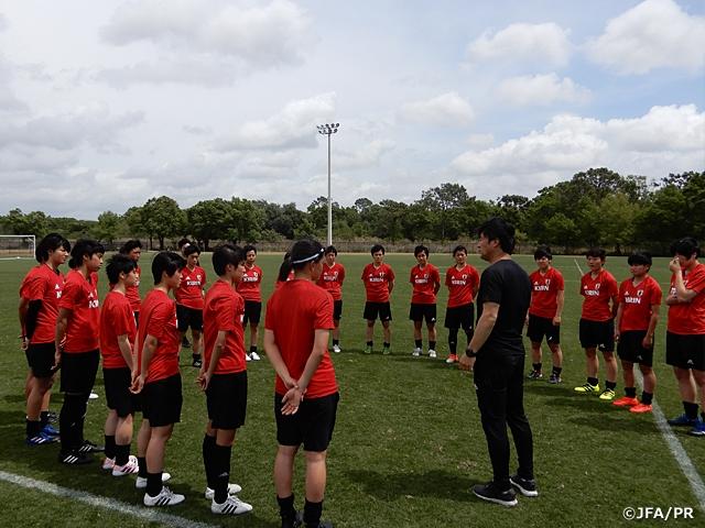 U-17日本女子代表、FIFA U-17女子ワールドカップウルグアイ2018に向けアメリカで始動