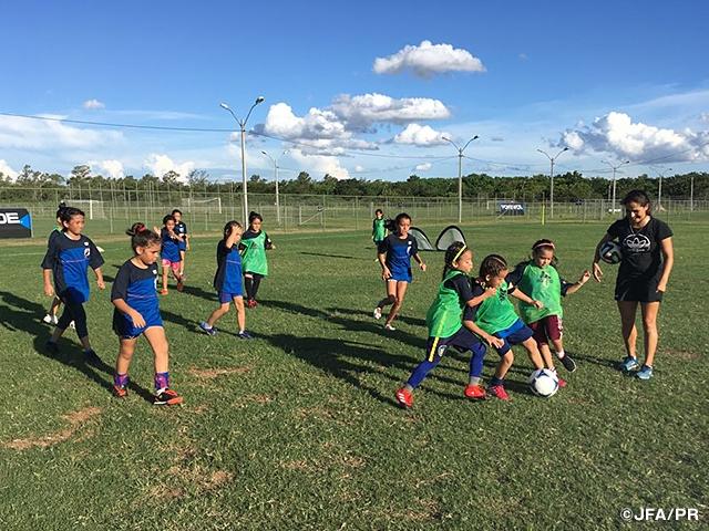 スポーツ・フォー・トゥモロー(SFT)プログラム 南米・日本 U-21サッカー交流 活動レポート:ガールズフェスティバル開催