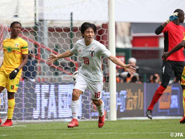 SAMURAI BLUE、初代表の中島選手の得点でマリとドロー