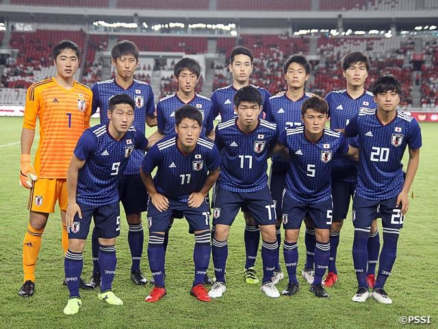 U-19日本代表 地元インドネシア...