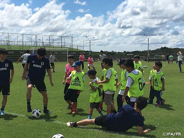 スポーツ・フォー・トゥモロー(SFT)プログラム 南米・日本 U-21サッカー交流 活動レポート:日系人向けサッカー交流会を開催