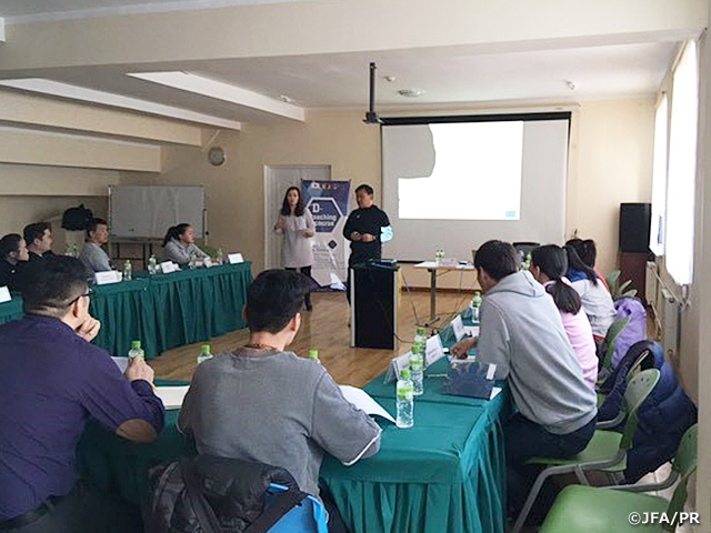 JFA D-licence Coaching Course held in Mongolia | Japan