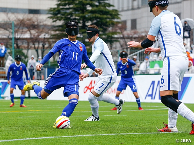 Japan finishes 5th in IBSA Blind Football World Grand Prix 2018