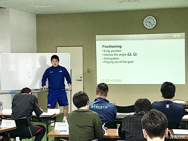 AFC Futsal GK Coaching Course Level 1 held in Ibaraki for 2nd time in Japan