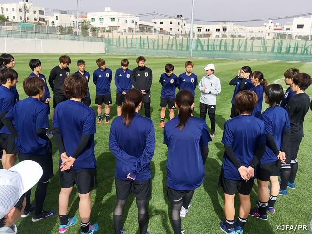 なでしこジャパン AFC女子アジアカップの開催地、ヨルダンに到着