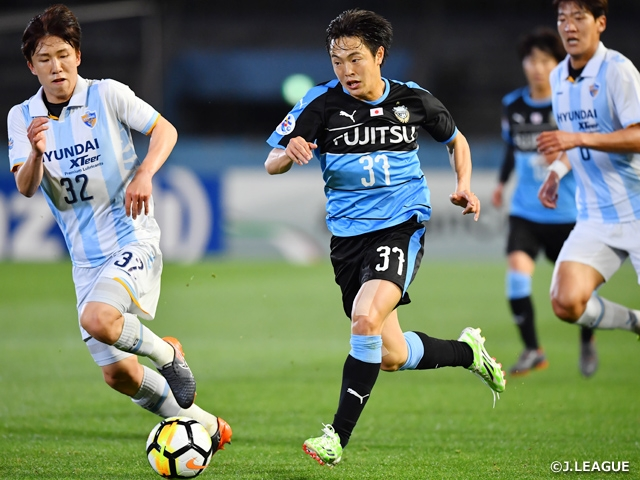 Kawasaki Frontale and Kashiwa Reysol both drop match in Final Sec. of ACL group stage