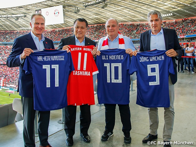 JFA signs on partnership with FC Bayern Munich