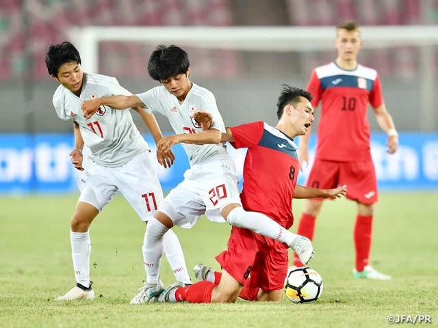 U-17キルギス代表に勝利して2連勝 U-16日本代表 CFA Jiangyin International Youth Football Tournament