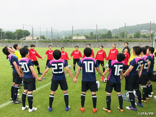 U-17日本女子代表候補トレーニン...