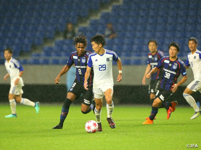 Kwansei Gakuin University cause huge upset by beating Gamba Osaka in Emperor's Cup JFA 98th Japan Football Championship