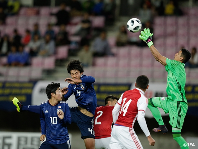 U-16 Japan National Team loses to Paraguay in their first match of the International Dream Cup