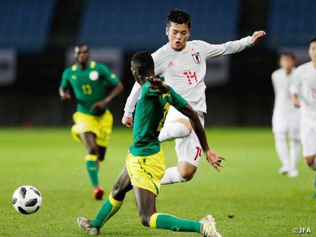 U-16日本代表、セネガルとの第2...