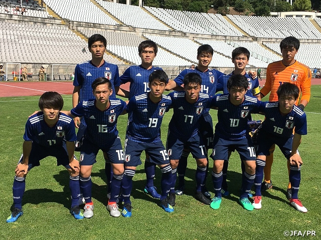 U-18 Japan National Team missed out on the title with loss against Norway in the 24th Lisbon International U18 Tournament