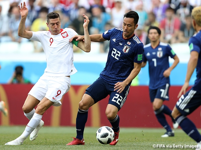 Japan loses to Poland 0-1, but with Colombia beating Senegal, Japan advances to the round of 16 with an advantage over Senegal in the fair play points!