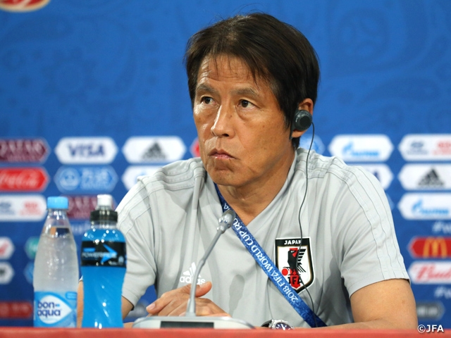 "Coach Nishino of SAMURAI BLUE (Japan National Team) shares his aspiration to ""Display Japan's style of football"""
