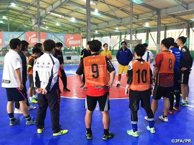 AFC Futsal Fitness Coaching Certificate Course Level 1 開催要項
