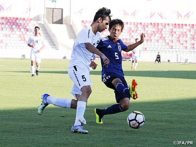 U-16 Japan National Team defeats Iraq to earn four straight victories and wins the title at the 5th WAFF U-16 Championship 2018
