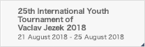 25th International Youth Tournament of Vaclav Jezek 2018
