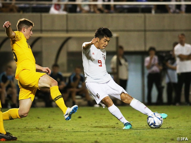 U-18 Japan National Team fins first match at SBS Cup International Youth Soccer