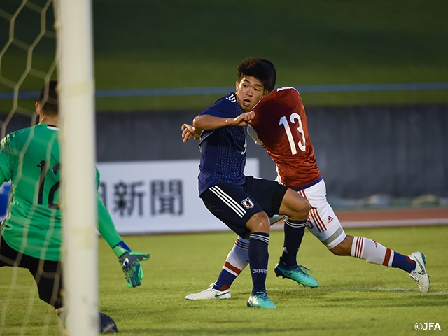 U-18 Japan National Team drops close match against Paraguay to finish as runners-up at SBS Cup International Youth Soccer