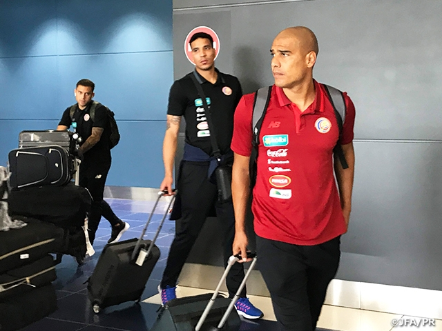 c370658c8 Costa Rica National Team arrives to Japan for KIRIN CHALLENGE CUP 2018