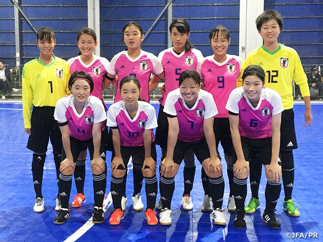 U-18 Japan Women s Futsal National Team concludes training camp with match  against Kanto Women s c8e60b10c7