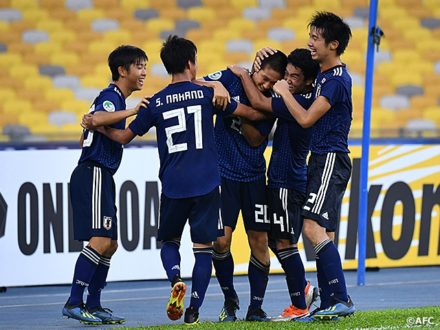 super popular c0bf1 21991 U-16 Japan National Team secures spot into the FIFA U-17 ...